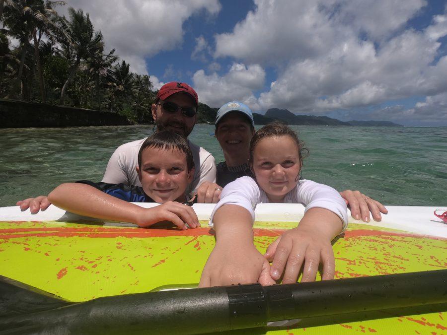Family travel american samoa