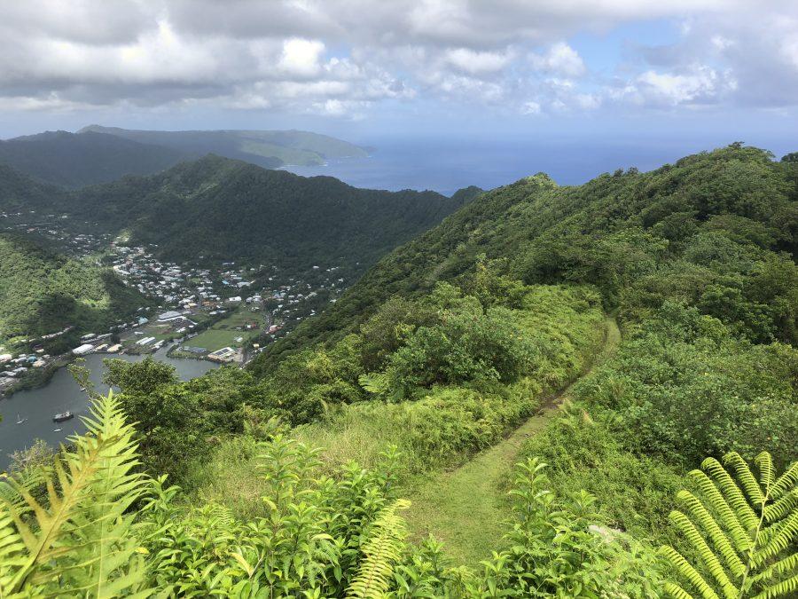 National Park of American Samoa hiking trail best time to visit samoa