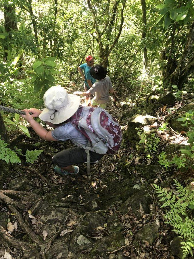National Park of American Samoa hiking trail american samoa holiday
