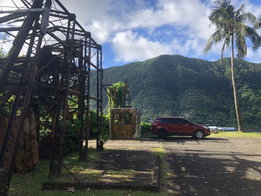 National Park of American Samoa hiking trail mt alava tramway