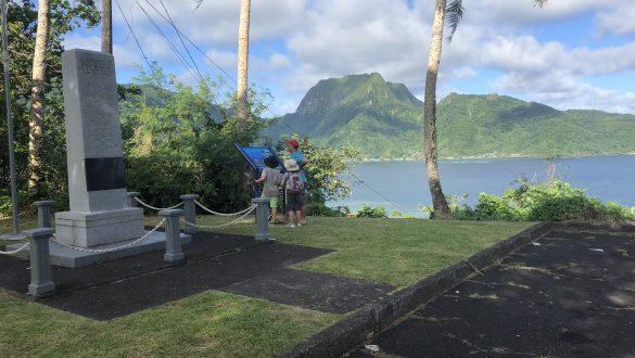 National Park of American Samoa trails hiking