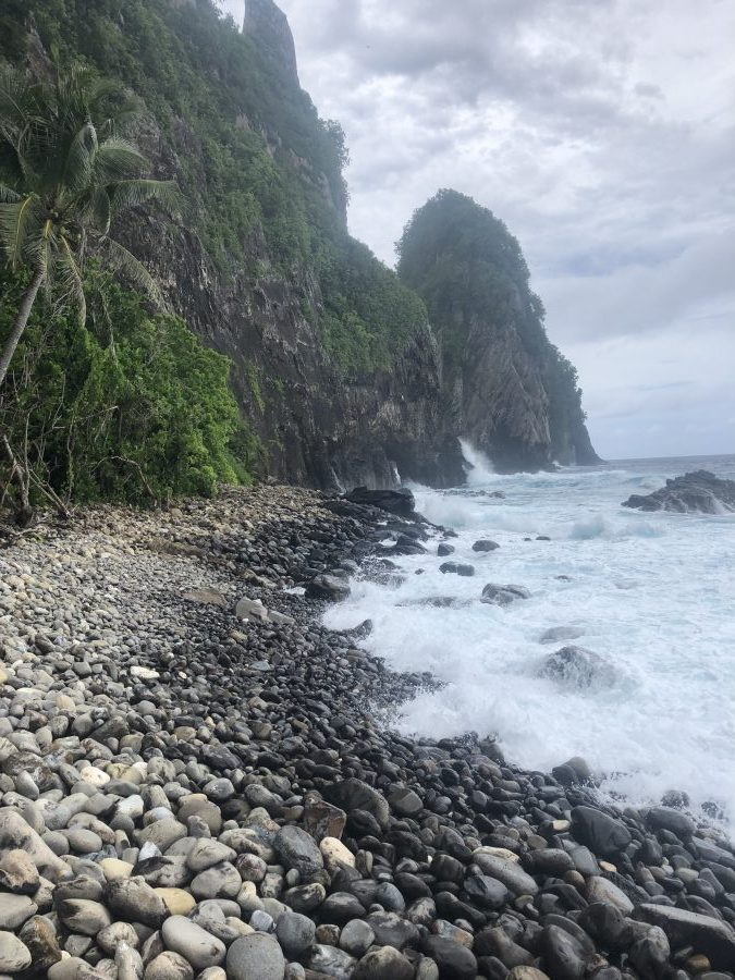 American Samoa National Park hiking trails pola island