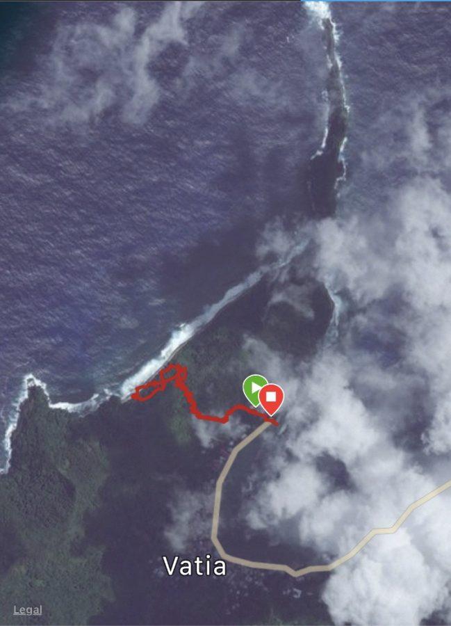 National Park of American Samoa hiking trails vatia