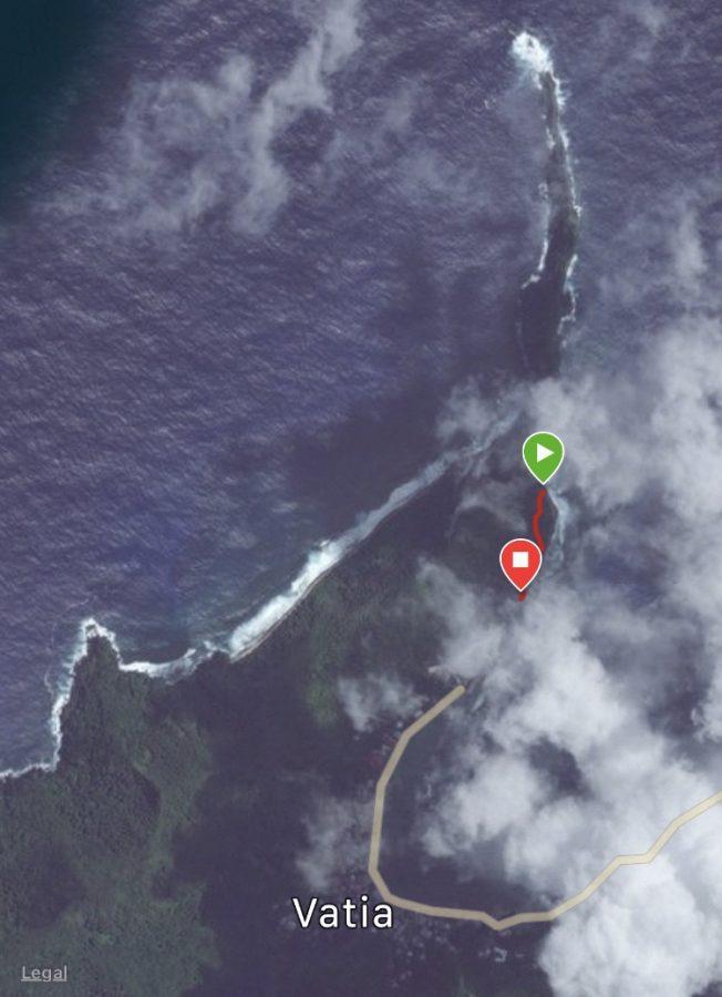 National Park of American Samoa hiking trails pola island