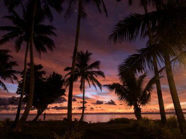 American Samoa Sunrise in Nu'uui